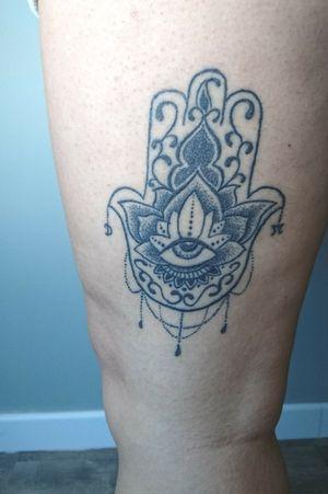 Fatima hand tattoo #tattooart #tattooartist #tattoist #tattoed #tattooaddiction #tattooaddiction