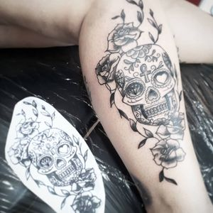 #mexicanskull #caveiramexicana #skull