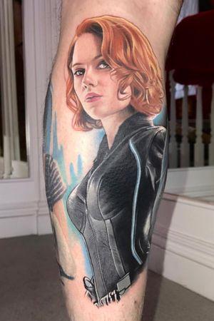 Scarlett Johansson as Black Widow from 'Avengers'