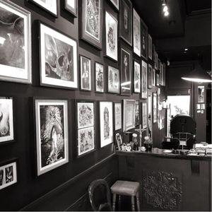 Thirteen Feet Tattoo in Newtown. #tattoostudio #realism #blackandgrey #AustralianTattooArtists