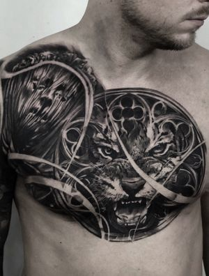 Tattoo by Fat Fugu Collective