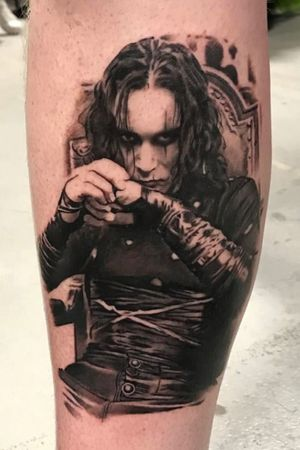 Brandon Lee as Eric Draven from 'The Crow'