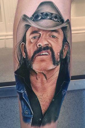 The legendary Lemmy from Motorhead