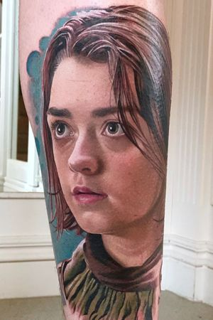 Maisie Williams as Arya Stark from Game of Thrones