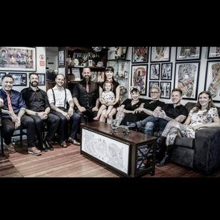 Authent/Ink Tattoo Studio Family #irezumiartists #Japanesestyle #Sydney #AustralianTattooArtists