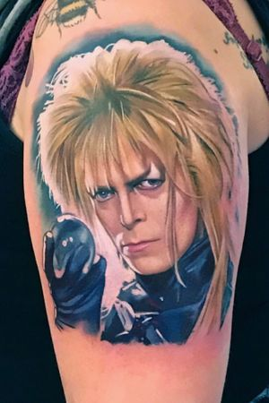 David Bowie as Jareth the Goblin King from 'Labyrinth'