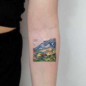 Vincent Van Gogh Les Alpilles, Mountain Landscape near South-Reme