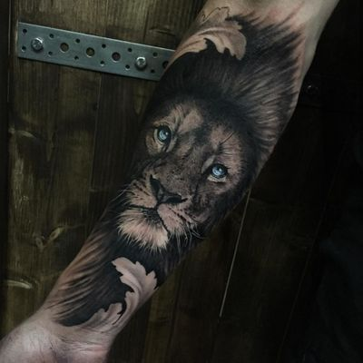 Loved doing this lion tattoo