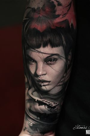 Done during the Barcelona tattoo convention last year