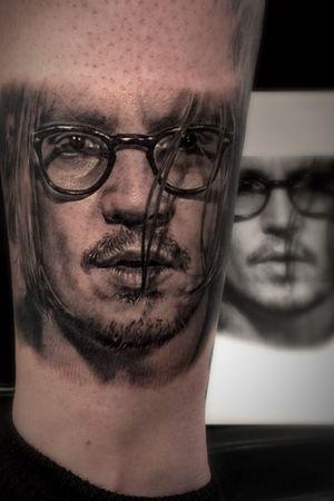 Johnny Depp #bestrealistictattoos #radtattoos #tattoo_artwork #tattoorealistic #bnginksociety #chinesetattoo #tattooinkspiration #tat #tattoodo #tattoos_of_instagram #tattoo #tattoos #skinart_mag #纹身 #刺青 #纹所未闻家族 #inkgeetstattoos #tattoolifemagazine #inkspiringtattoos #TattooistArtMag #inkedmag #inkedselect #kurosumizhangpogreywashset #zhangpogreywashshadingset
