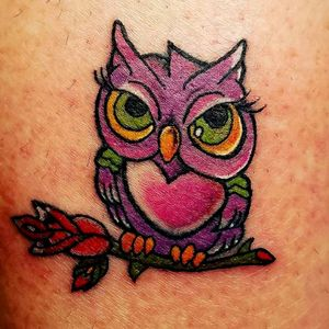 New school owl. Thanks for looking
