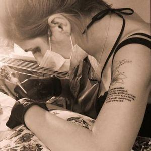 Me... #art #tattoo #tatouage #tatuaje #tatuaggio #тату #aurorabeatriz #luttiink #brazil