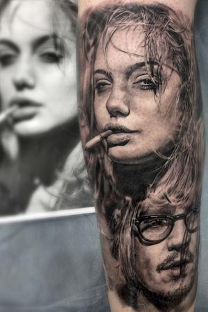 Angelina Jolie #bestrealistictattoos #radtattoos #tattoo_artwork #tattoorealistic #bnginksociety #chinesetattoo #tattooinkspiration #tat #tattoodo #tattoos_of_instagram #tattoo #tattoos #skinart_mag #纹身 #刺青 #纹所未闻家族 #inkgeetstattoos #tattoolifemagazine #inkspiringtattoos #TattooistArtMag #inkedmag #inkedselect #kurosumizhangpogreywashset #zhangpogreywashshadingset