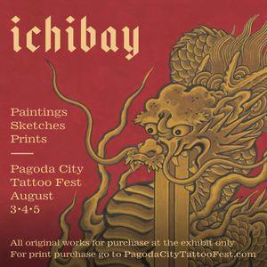 Ichibay Exhibit at Pagoda City Tattoo Fest 2018 #HideIchibay #PagodaCityTattooFest