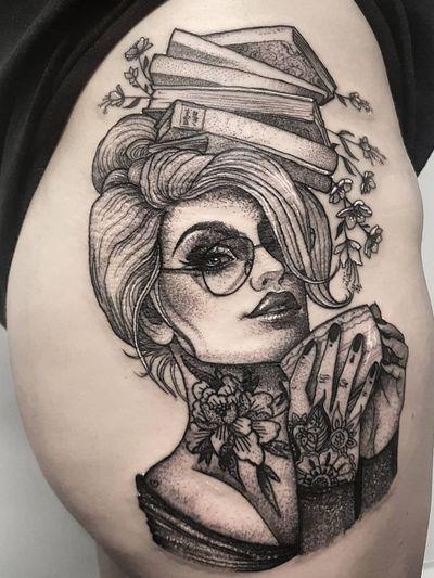 Instagram: @olga_tattoos E-mail: Olgamdtattoos@gmail.com #lady#ladyhead#beauty#woman#nerd#bookworm#tea#teacup#flowers#glasses#girl#girlpower#peony#tattoosontattoos#tattooedtattoos#prettygirl #london#londontattoos#shoreditch#customdesign#customtattoos#bw#blackink#blscktattoos#tattoo#tattoos#tattooed#tattooers#blackwork#blackink#blackworkers#blackworkers_tattoo#ttt#tttism#ldnttt#london#ink#londontattoos#uktattooers#blacktattoos#blackandgrey#blackandgreytattoos#realistictattoo#art#blackandgreytattoos#posTTT#loveiTTT