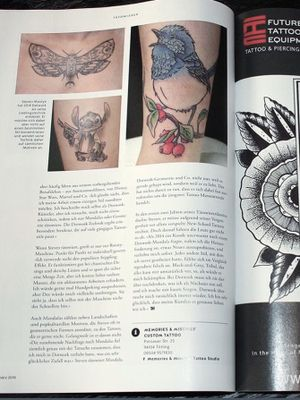 Interview published in TaetowierMagazin