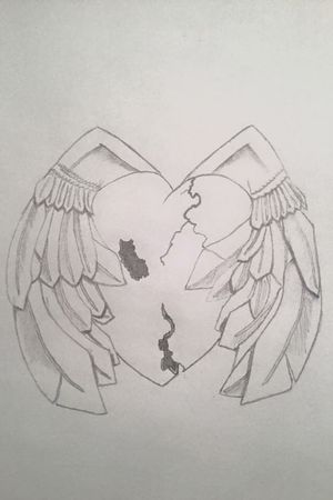 #3D #heart #angelwings #fragile #HealingStages