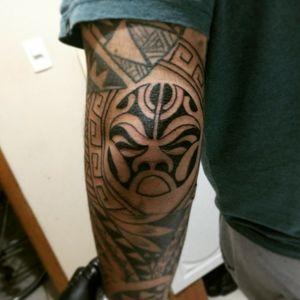 #maori #maoritattoo #blackworktattoo #blackinktattoo