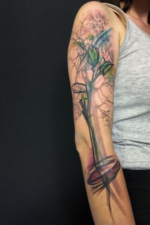 #tattooart #tattoo #tree #treeoflife #treeoflifetattoo #TattooGirl