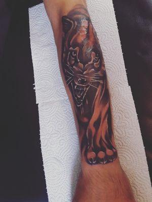 #Tattoowolf #wolf #wolftattoo #nice #tattoo