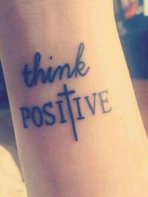 Reste Positive Angi!!!! Fait à Bruxelles