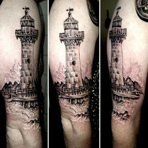 #lighthouse #oceanlife #sandiego #sdtattoo #bngsociety #tattoodo