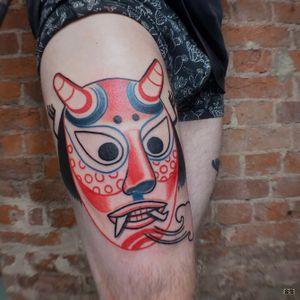 . Fart spirit . for @igor7enov . . #azitatts #tattoo #aesthetic #neotats #taot #tattoorussia #spbtattoo #tatts #tattoomoscow #tattoodo #spbtattoo #masktattoo #skin #tattoos #tattooartist #russiantattooartist #tattooflash #japantattoo #ta2 #KoreanTattoos