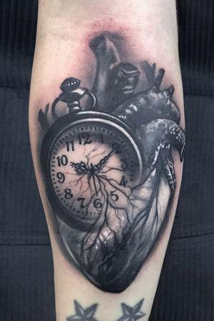 Clock heart