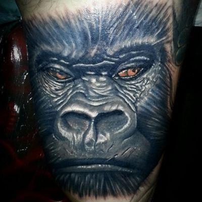 #realism #gorilla #tattoo