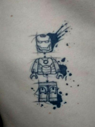 #MarvelTattoo #ironman #onmyribs