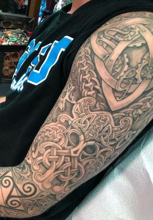 Levis celtic sleeve