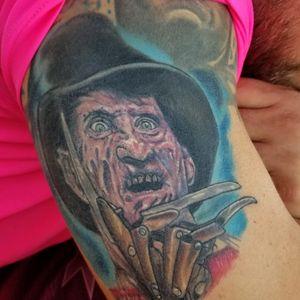 #healedtattoo #FreddyKrueger #horror #nightmareonelmstreet
