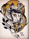 Neotraditional custom design!! Egyptian Katz! #neotraditional #neotrad #neotradsub #tattoo #ink #colors #rose #rosetattoo #skull #skulltattoo #trad #Edinburgh #edinburghtattoo #uk #uktattoo #thebestoftheday #girl #girls #girltattoo #face #tattooed #inkspiration #art #customdesign #design #scotland #scotlandtattoo #death #instagram #neotradiotionaltattooers