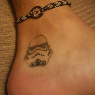 #stormtrooper #stormtroopertattoo #starwars #starwarstattoo