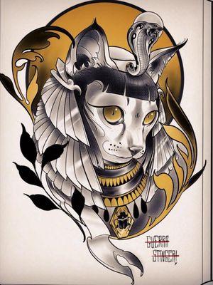 Egyptian Katz #neotraditional #neotrad #neotradsub #tattoo #ink #colors #rose #rosetattoo #skull #skulltattoo #trad #Edinburgh #edinburghtattoo  #uk  #uktattoo  #thebestoftheday #girl #girls #girltattoo #face #tattooed #inkspiration #art #customdesign #design #scotland #scotlandtattoo #death #instagram #neotradiotionaltattooers