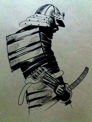 Samurái, sharpie