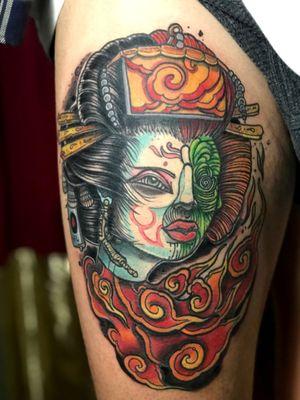 Tattoo by ThINK Tattoo