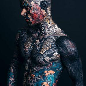 Sylvain aka Freaky Hoody #FreakyHoody #Sylvain #bodymodification #bodymod #bodysuit
