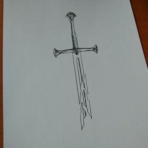 Sword of Isildur, Lord of the Rings