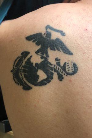 Usmc moto tattoo