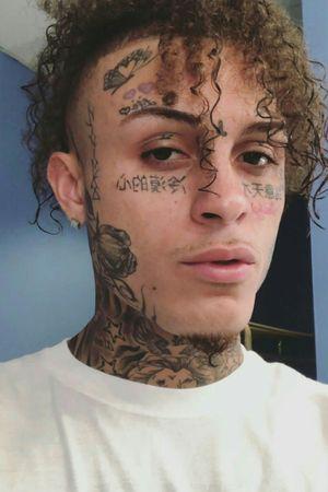 Fucking bitch #lilskies #tatouages #rosa #curly #french #beautifultattoo #beautifultattoo