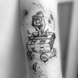 Luigi - Super Mário Bros #supermariotattoo #supermario #supermariobros #Luigi #gamertattoos #gamertattoo #gamer #nintendotattoo #Nintendo #geektattoos #geek #nerdtattoo #nerd #sketchtattoo #sketchstyle #sketch #draw #drawing #drawings