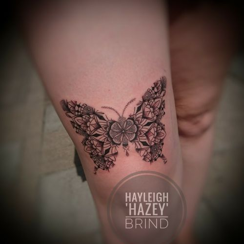 Butterfly mandala #butterflytattoo #mandalatattoo