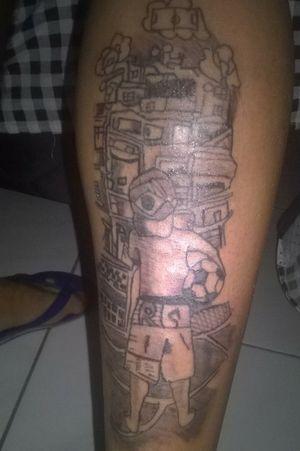 #Football #Favela