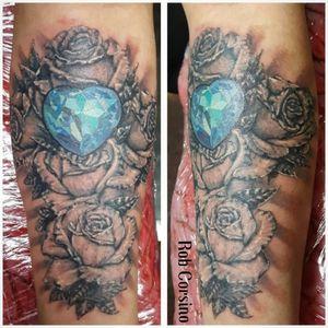 Tattoo by Black Cherry Tattoo Studio Black Thunder Irons