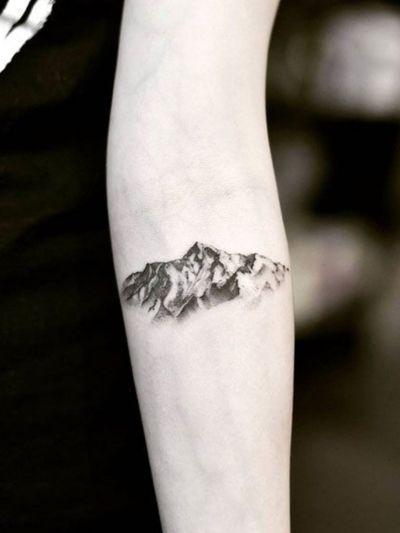 #mountain #mountains #mountaintattoo