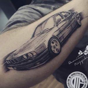 BMW e34 My car