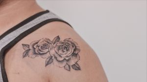 Rose tattoo #rose #botanicaltattoo