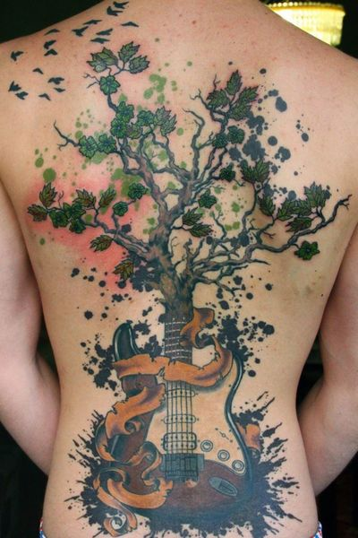 #tree #guitar