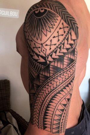 #polynesian #polynesiantattoo #PolynesianTattoos #maoritattoo #maori #maoristyle